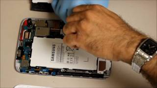 How to replace the Samsung Galaxy Note 8.0 Battery-You tube