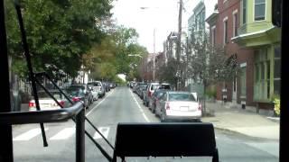 septa bus ride on nabi ikarus 416 08ta 5382 on route 32