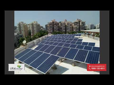 25 KW Institutional - Commercial Solar Panel Project Ahmedabad Gujarat - U R Energy