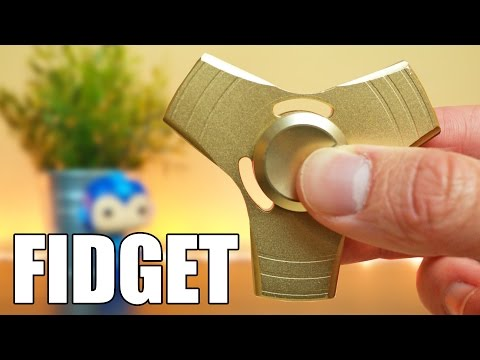 Tricks with the GOLDEN Fidget Spinner | My Grandma Masters the Spinner!!!