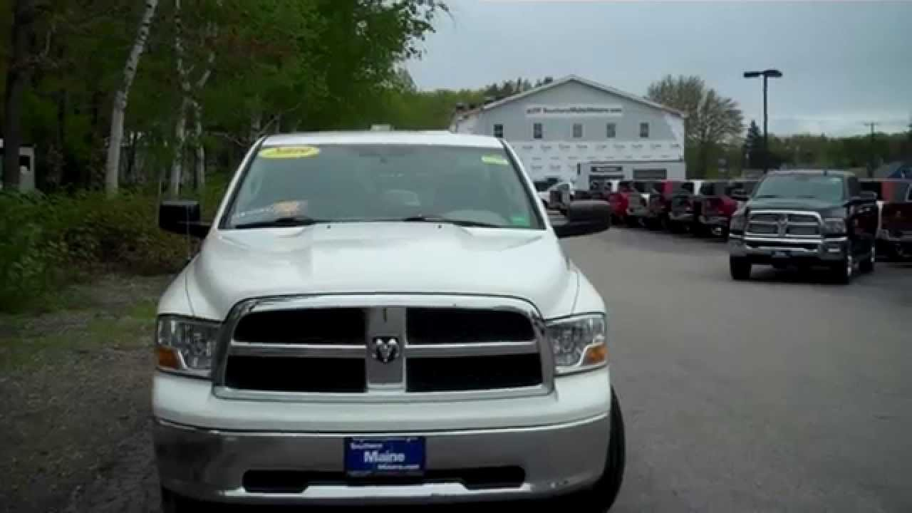 Used 2009 dodge ram 1500 reg cab long bed southern maine for Southern maine motors saco maine