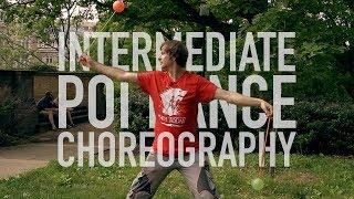 Intermediate Poi Dance Choreography: Body Tracing Edition