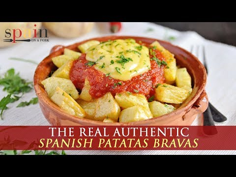 Authentic Spanish Patatas Bravas Recipe
