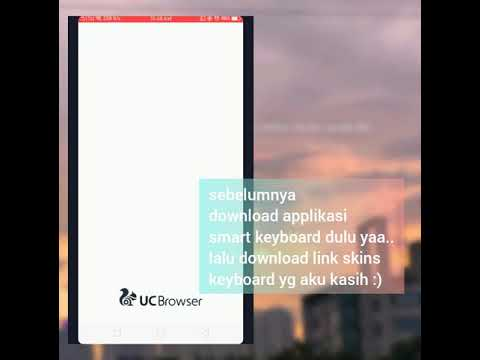 cara pasang skins smart keyboard pro di android