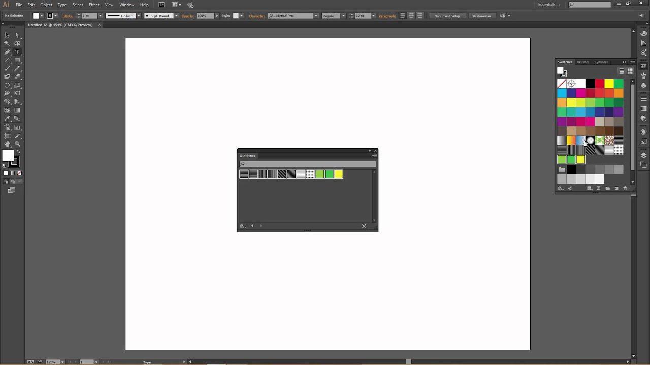Installing Old Stock for Adobe Illustrator