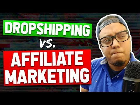 Dropshipping vs Affiliate Marketing | Pros & Cons of Each