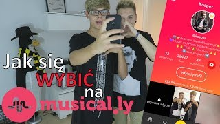 Stasio Janiszewski UCZY jak się WYBIĆ na Musical.ly!