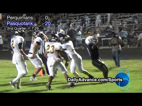 The Daily Advance | 2018 High School Football | Perquimans at Pasquotank