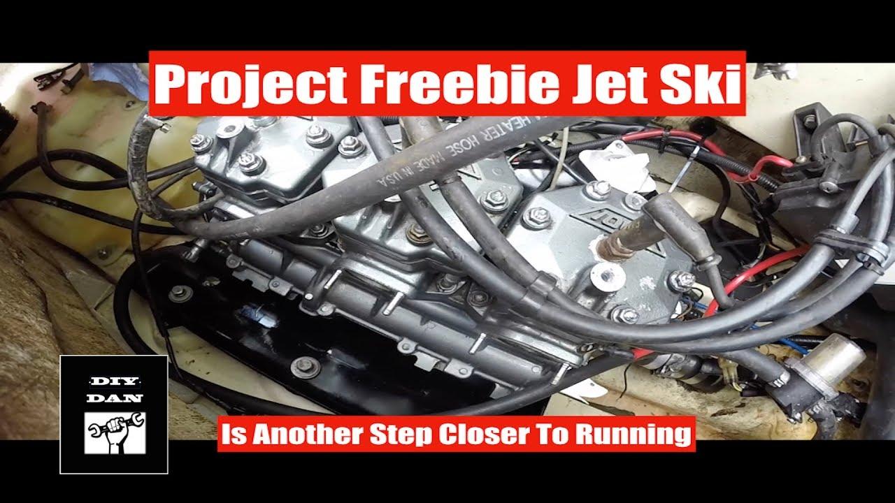 Part 5 Of The Freebie Jet Ski Project Tigershark Daytona 1000 Youtube. Part 5 Of The Freebie Jet Ski Project Tigershark Daytona 1000. Wiring. 900 Tiger Shark Engine Diagram At Scoala.co