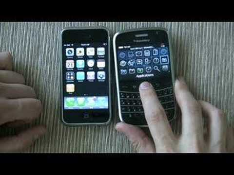 iPhone vs BlackBerry Bold