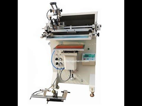Semi Automatic Screen Printer For Ruler,Ruler Silk Screen Printing From China