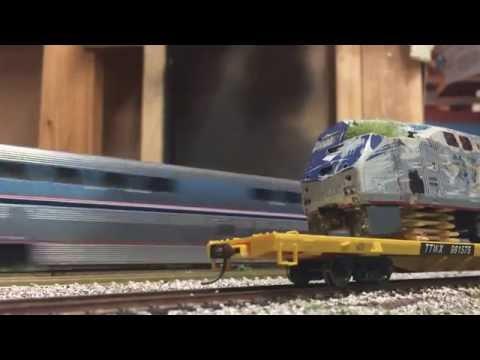 HO Scale Amtrak Trains 2