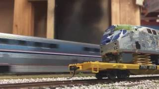 HO Scale Amtrak Trains 2