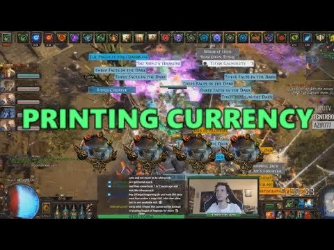 [PoE] Stream highlights #238 - Printing currency
