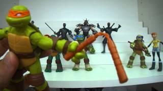 Review coleção das Tartarugas Ninja Nickelodeon - série 1