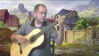 Grazioso, composed by Mauro Giuliani, Classical Guitar