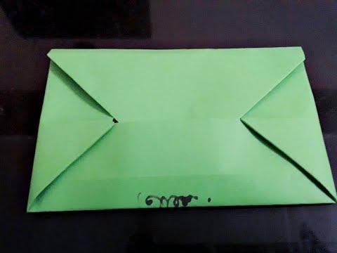 Easy Origami Envelope ll DIY Paper Envelope ll Envelope Series #1