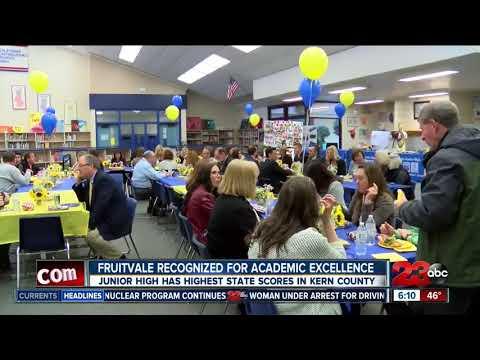 All eyes on Fruitvale Junior High School