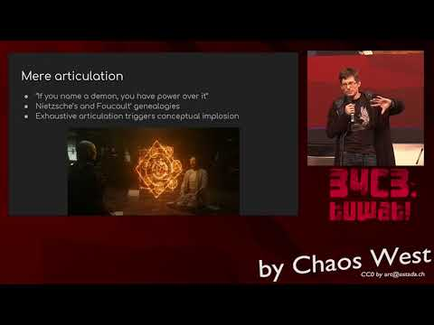 34C3 ChaosWest -  Hacking Worldviews / Hacking Abstractions