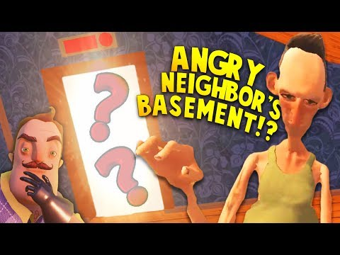 WE DID IT! WHAT IS INSIDE HIS BROTHER'S BASEMENT?! | Hello Neighbor Mobile Game Rip off