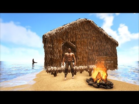 Ark Survival Evolved Procedurally Generated Map Let's Play Ep. 01 Starting off on a new map