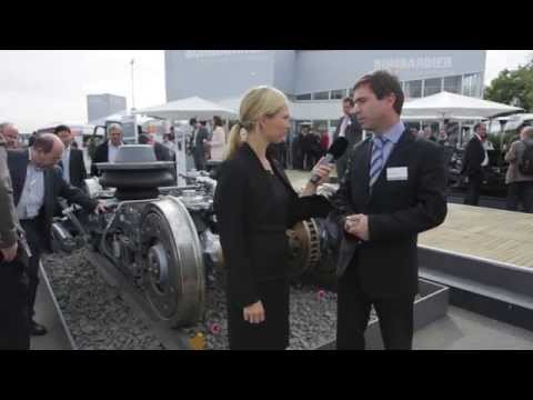 InnoTrans 2014 - Interview with Bart Vantorre about FLEXX Eco bogie