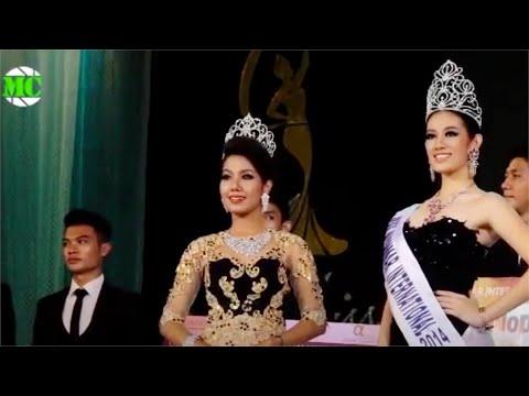 Miss Myanmar International 2014 Grand Final in Yangon