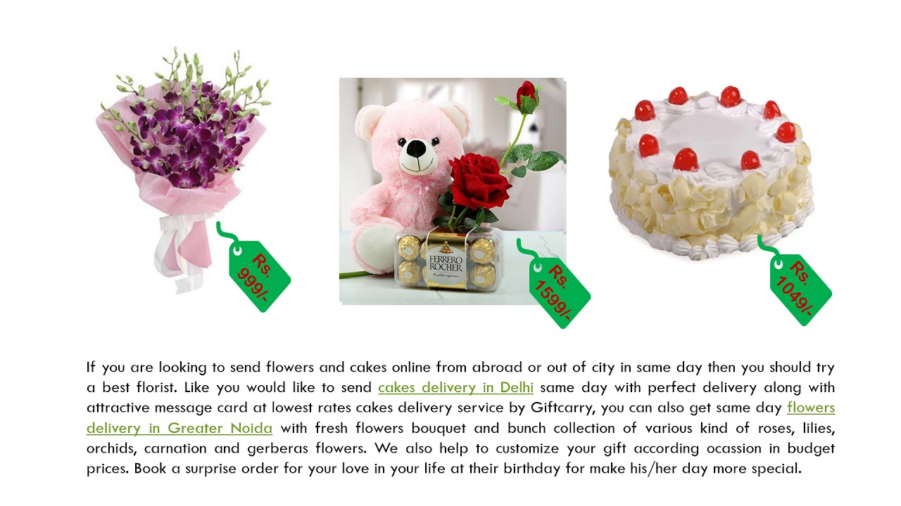 Buy Flowers Bouquet at Anniversary and Send Cakes on Birthday of ...