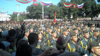 Парад ко Дню Республики (Приднестровье, ПМР, Тирасполь) 2.09.2015 (2/4)