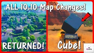 *NEW* All 10.10 Update MAP CHANGES! (v10.10 Patch) | Fortnite