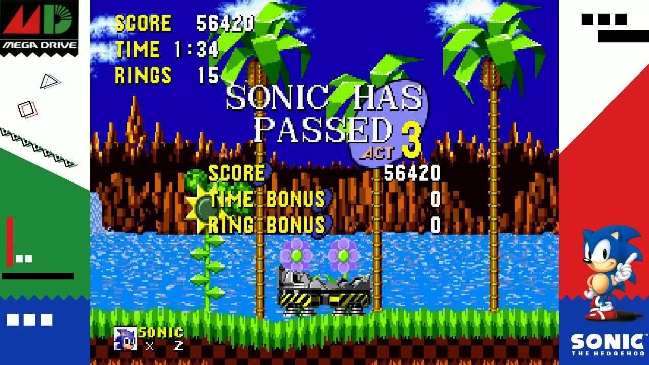 Sega Ages Sonic The Hedgehog Gameplay Nintendo Switch Youtube