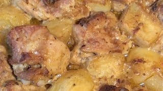 Куриные Бедрышки с картошкой в ДУХОВКЕ в Горчичном соусе