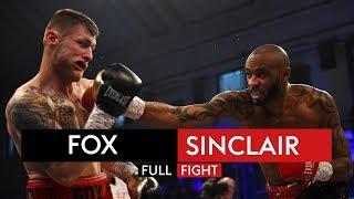 FULL FIGHT! Duane Sinclair v Anthony Fox