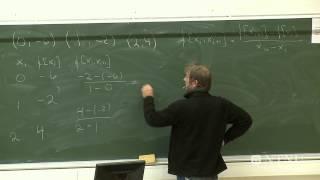 37-Newtons metode for systemer, inerpolasjon, integrasjon og derivasjon del 2