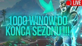 1000 WINÓW DO KOŃCA SEZONU !!! FORTNITE CHALLENGE - Fortnite Na Żywo #FORTNITE #NA ŻYWO - Na żywo