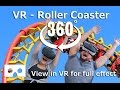 VR Roller Coaster   Experience the excitement of a Virtual Reality 360 ride in a VR Theme Park