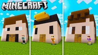DENIS vs. SKETCH vs. ALEX vs. CORL vs. SUB Minecraft House Challenge!