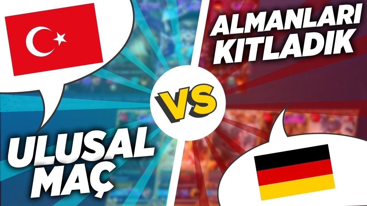 TÜRKİYE VS ALMANYA ULUSAL MAÇ - Mobile Legends
