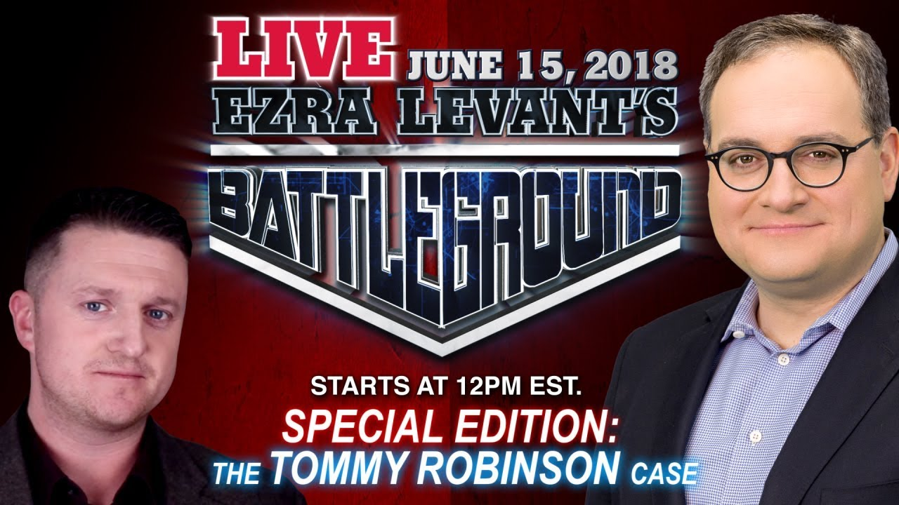 Ezra Live! BIG NEWS about Tommy Robinson + your questions & comments