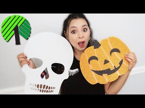 Halloween shopping at the Dollar Tree!