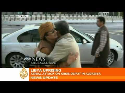 'Attack' on arms depot in Libya's Ajdabiya