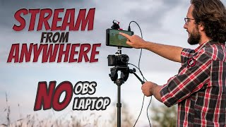 Portable LIVE STREAM SETUP | How to STREAM ON YOUTUBE, TWITCH, FACEBOOK | YOLOBOX REVIEW