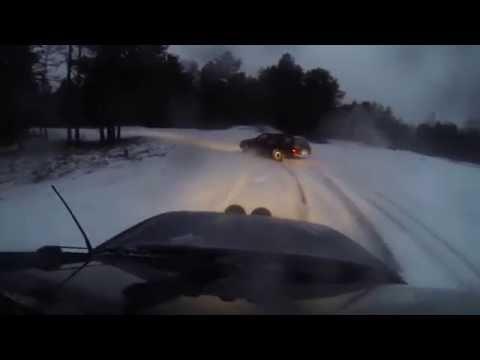 Ford Sierra Winter Tandem Drifting