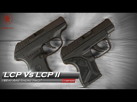 New Ruger LCP II Vs the original LCP Why Are There Two?