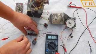 Регулятор оборотов двигателя 12В с тормозом (для полуавтомата)