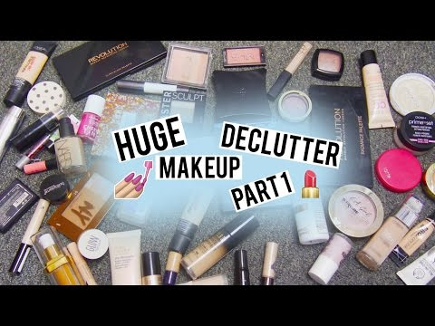 Spring Makeup Declutter Part 1: Base & Face | Behind The Scent