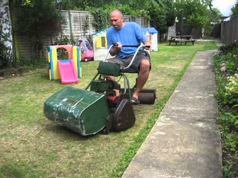 Vintage Petrol Atco Royal Ride On Lawn Mower Rebuild