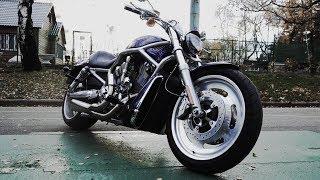 Harley-Davidson V-Rod спортам раздаёт