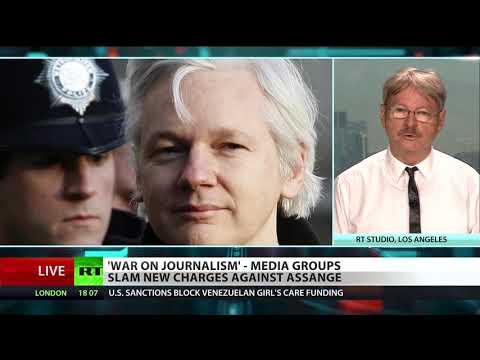 RT America: What Assange indictment means for press freedom
