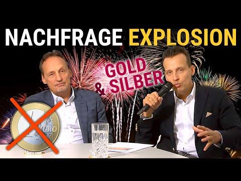 💣Nachfrage-Explosion Bei Gold & Silber! Das Ende Des Euro 💶 ?